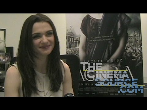 Rachel Weisz Exclusive Interview for the movie Agora