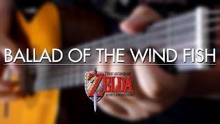 Ballad of the Wind Fish (Link's Awakening) Guitar Cover   DSC