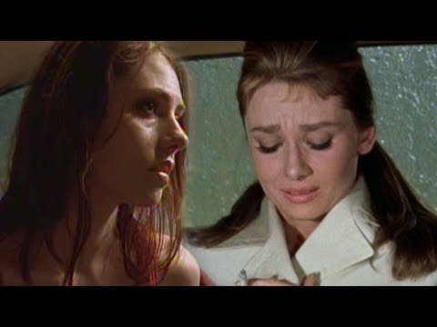 Fractured   Adrienne Wilkinson and Audrey Hepburn