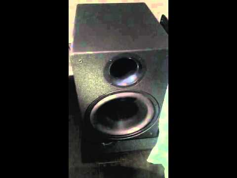 power sound audio v1500 sub youtube