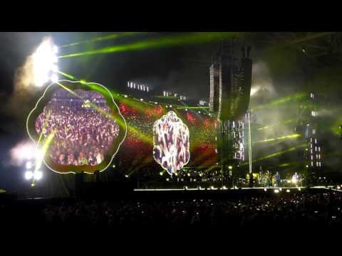 Coldplay Yellow Live Cardiff 11 July 2017
