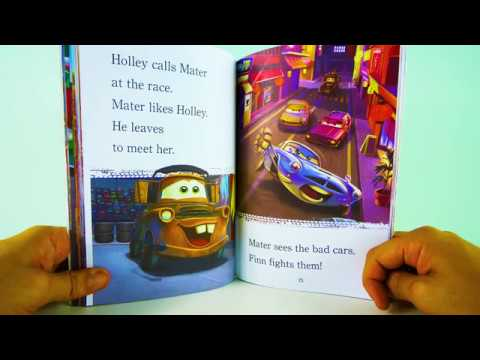 Cars Read Along Story book l Cars 2 – Super Spies l Read Aloud Story Books for Kids