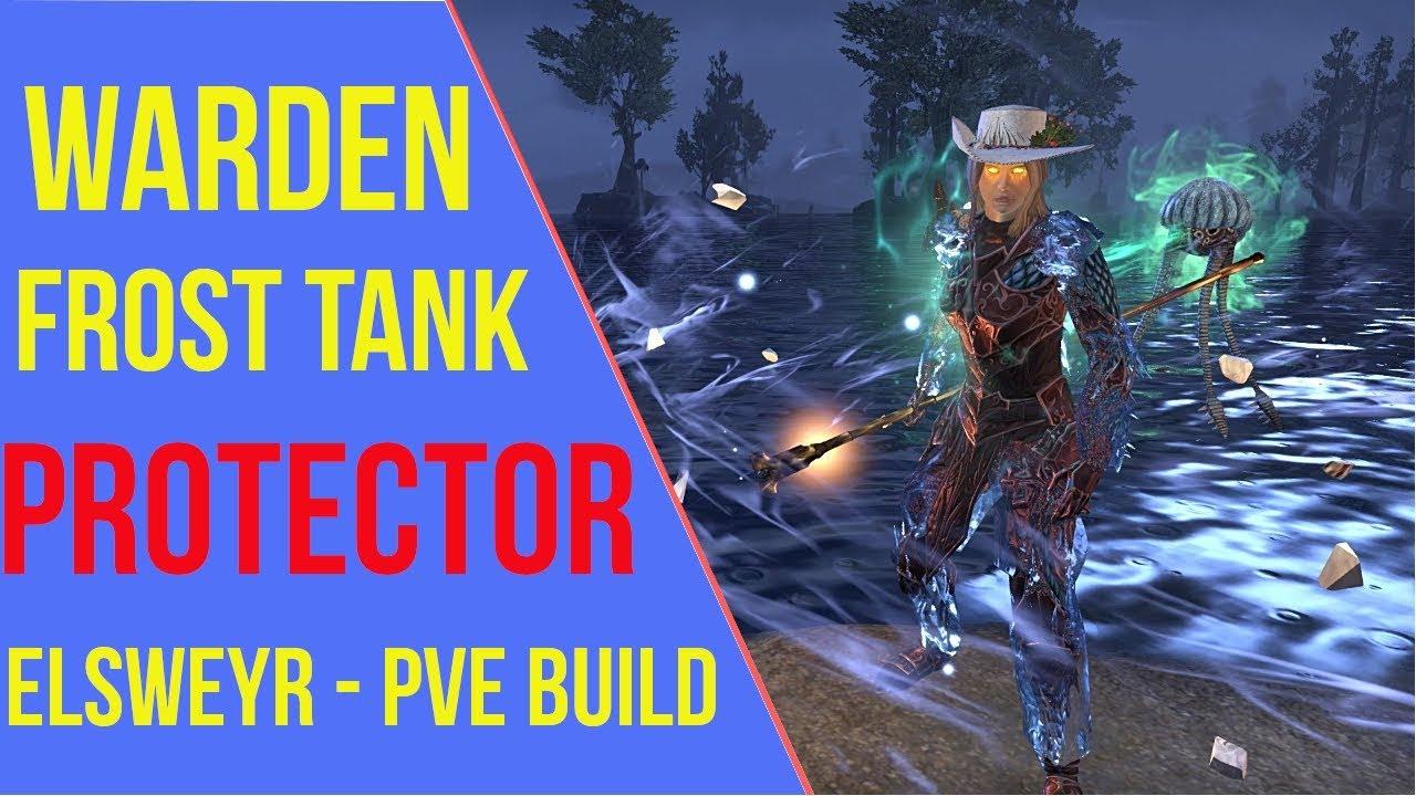 Warden Tank PVE Build ESO - ArzyeLBuilds