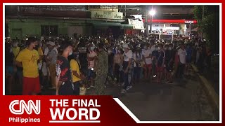 Thousands crowd vaccination sites in Manila ahead of ECQ