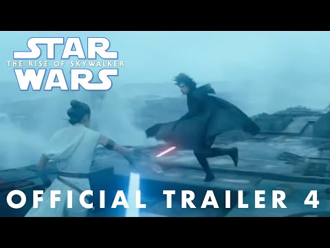 Star Wars The Rise of Skywalker Official Trailer 4 (NEW FOOTAGE)