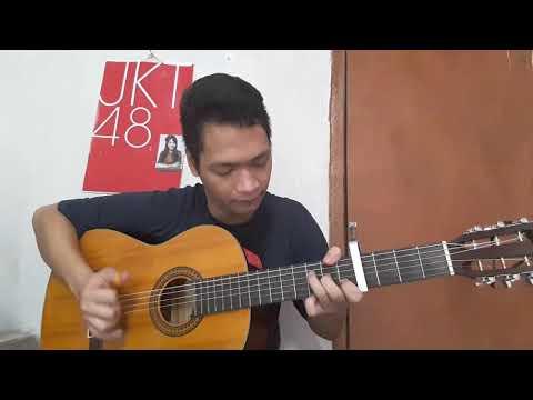 JKT48 - Shiroi Shirts (acoustic guitar fingerstyle cover)