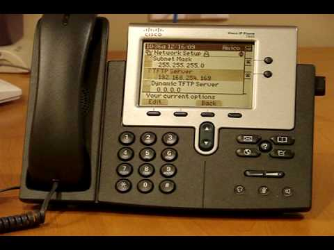 Cisco Phones on Asterisk Elastix wmv