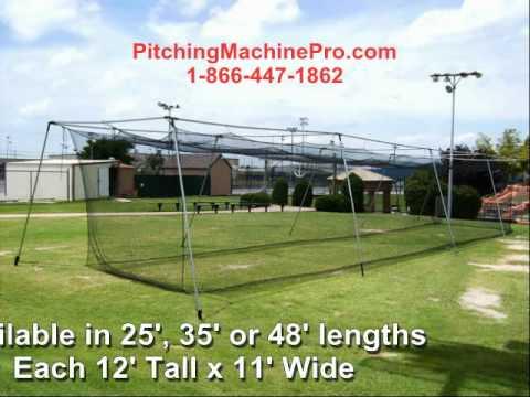 Cimarron BackYard Baseball Softball Batting Cages