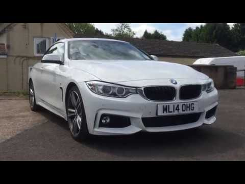 BMW 428I Convertible >> 2014 BMW 428i CONVERTIBLE CAR REVIEW - YouTube