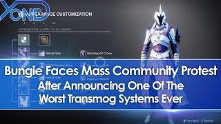 Bungie Faces Mass Protest After Announcing One Of The Worst Transmog Systems Ever For Destiny 2