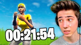 The LAST DAY before it happens in Fortnite..