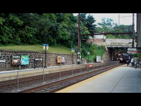 SEPTA Media/Elwyn Line Action - Fall 2009 in HD
