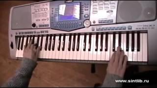 Золушка музыка игра на синтезаторе 1