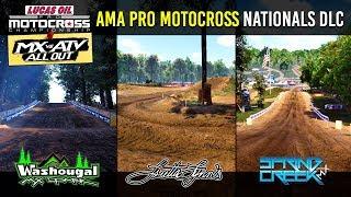 Spring Creek || Loretta Lynn's || Washougal - AMA Pro Motocross Championship DLC - MX vs ATV All Out Video