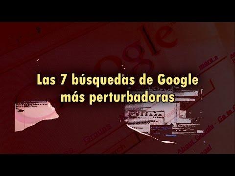 Las 7 búsquedas más perturbadoras hechas en Google