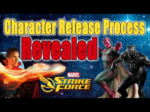 Marvel Strike Force - Character Release Process Revealed