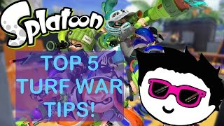 HOW TO BE A SQUID KID (TOP 5 TURF WAR TIPS)