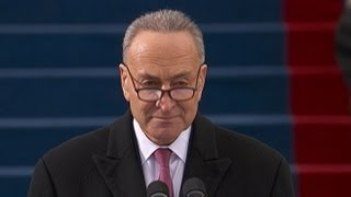 Inauguration Day 2013: Sen. Charles Schumer Opens Inaugural Ceremony