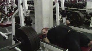 Jeremy Hamilton: Bench Press + Overhead Press Training 03/12/13 + 07/12/13 Week 1