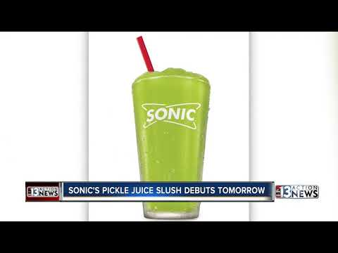 Kristie - Sonic's New Pickle Juice Slush Is A Real Thing