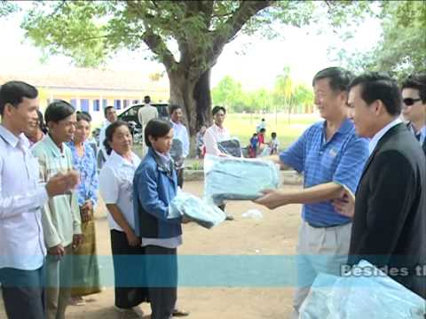 Cambodian Student in Rural Calling for School