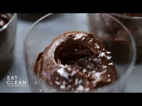 Dark-Chocolate and Avocado Pudding Eat Clean with Shira Bocar