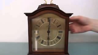 Junghans Quattro Phon Highly Collectable Rare Mantel Clock Westminster Bim Bam Ave Maria