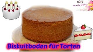 Biskuitboden wie vom Bäcker - perfekt für Motivtorten - Basics - Cake Princess