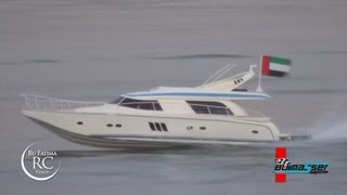 The Fastest RC SPEED YACHT Ever with U.A.E flag