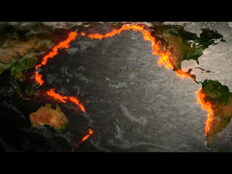 Ring of Fire: Earthquakes around the Pacific explained; California earthquake - Compilation