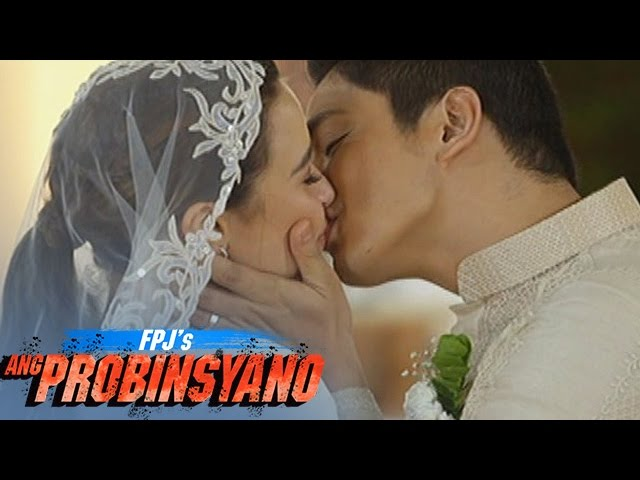 FPJ's Ang Probinsyano: Cardo and Alyana's first kiss as a married couple