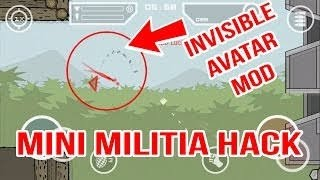 How To Be Invisible In Minimilitia | Make Invisible Avatar Mode Apk