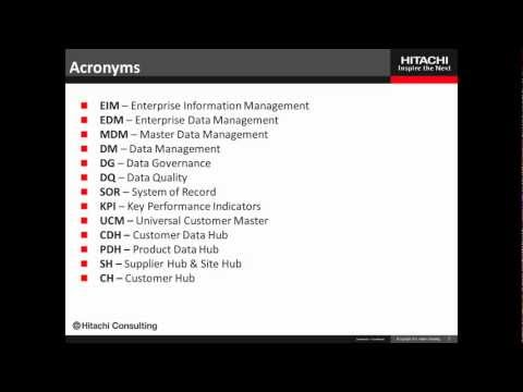 Introduction - Master Data Management Data Governance Leadership and Best Practices