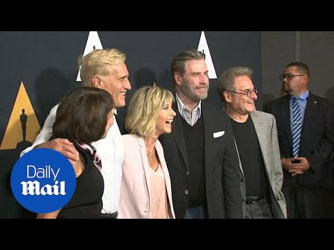 Download Grease stars reunite for special 40th anniversary screening