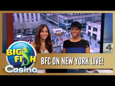 Big Fish Casino As Seen On New York Live!