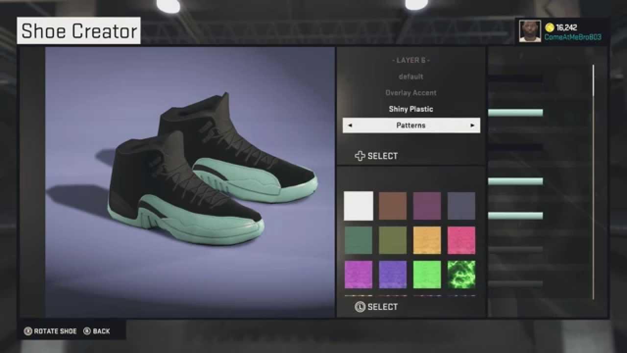 09794814e252 NBA 2K15 Shoe Creator