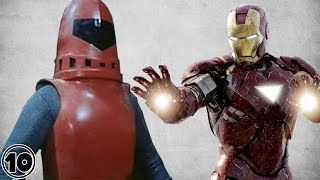 Top 10 Superheroes Before And After