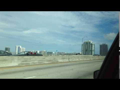 GOING TO CRUISE PORT, FORT LAUDERDALE