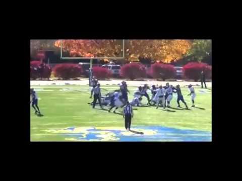 Jason Taylor Highlight tape ILB (Catawba College #33) 2014