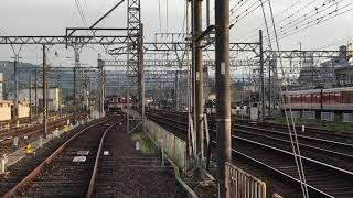 近鉄大阪線 名張駅 4番線から引き上げ