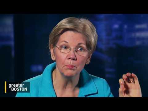 Senator Elizabeth Warren Talks Hillary Clinton, Her Tweets & Election 2016