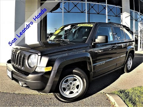 2014 Jeep Patriot Sport Sale Price Lease Bay Area Oakland Alameda Hayward  Fremont San Leandro CA R14