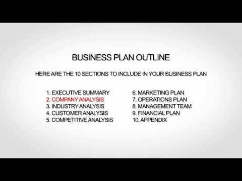 Restaurant Business Plan Template - Youtube