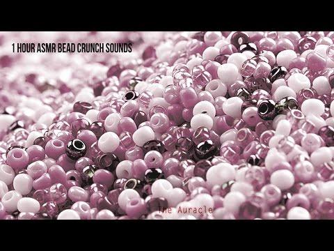 1 hour [ASMR] ★ Super crunchy bead sounds ★ [Binaural] [No talking]