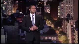 Trevor Noah on The David Letterman Show
