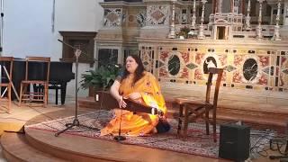 Canto d'amore indiano thumri per Interreligious 2020