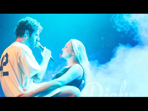 """Lil Dicky performs """"Lemme Freak"""" and takes off clothes to Girl on Stage"""