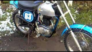 bsa victor classic vintage motocross