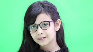 قناة اطفال ومواهب الفضائية كليب قناتي الغالية للنجمة حنين الشنيني