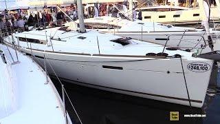 2016 Jeanneau Sun Odyssey 449 Sailing Yacht - Deck, Interior Walkaround - 2015 Annapolis Boat Show